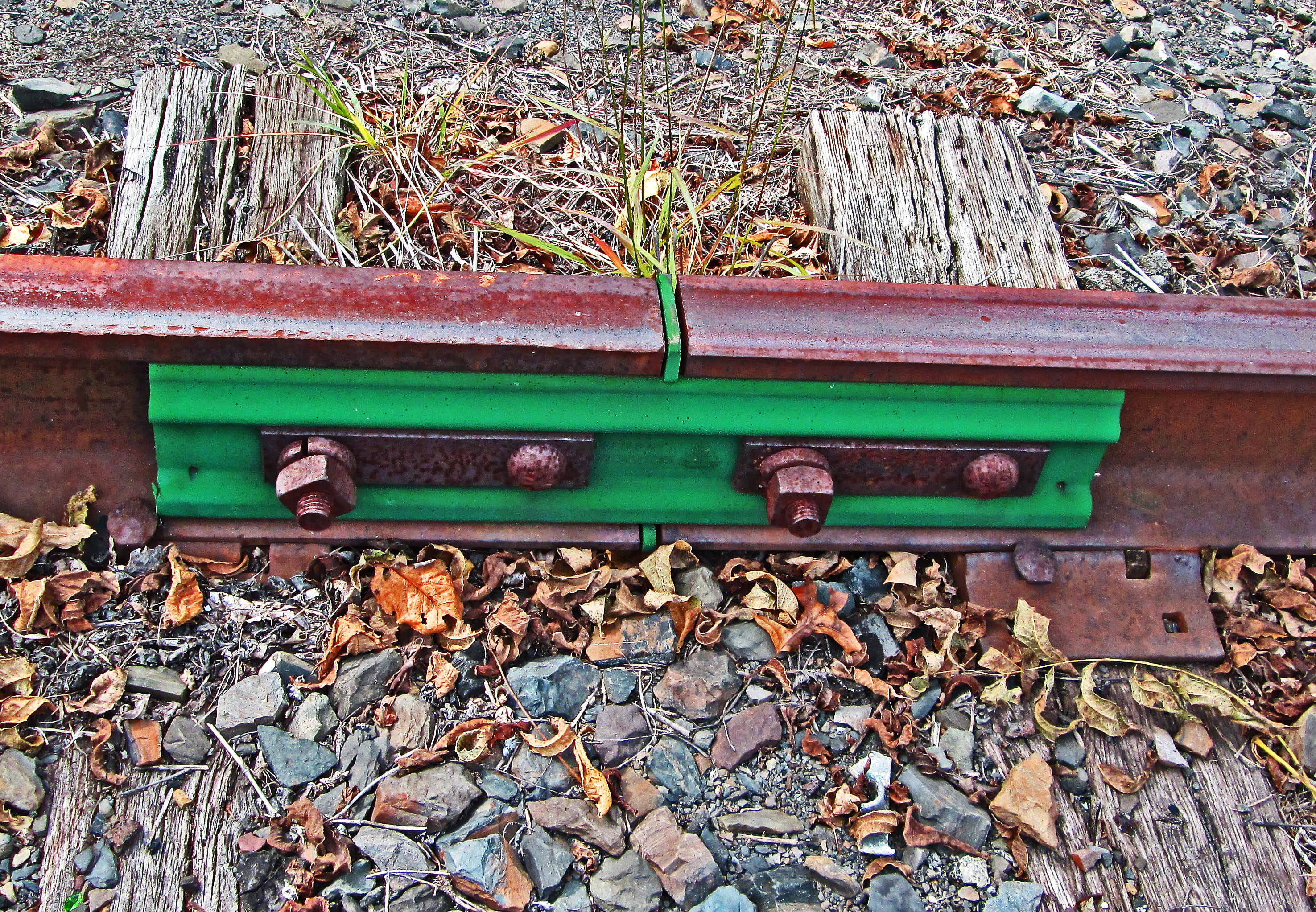 Railroad Track Joint