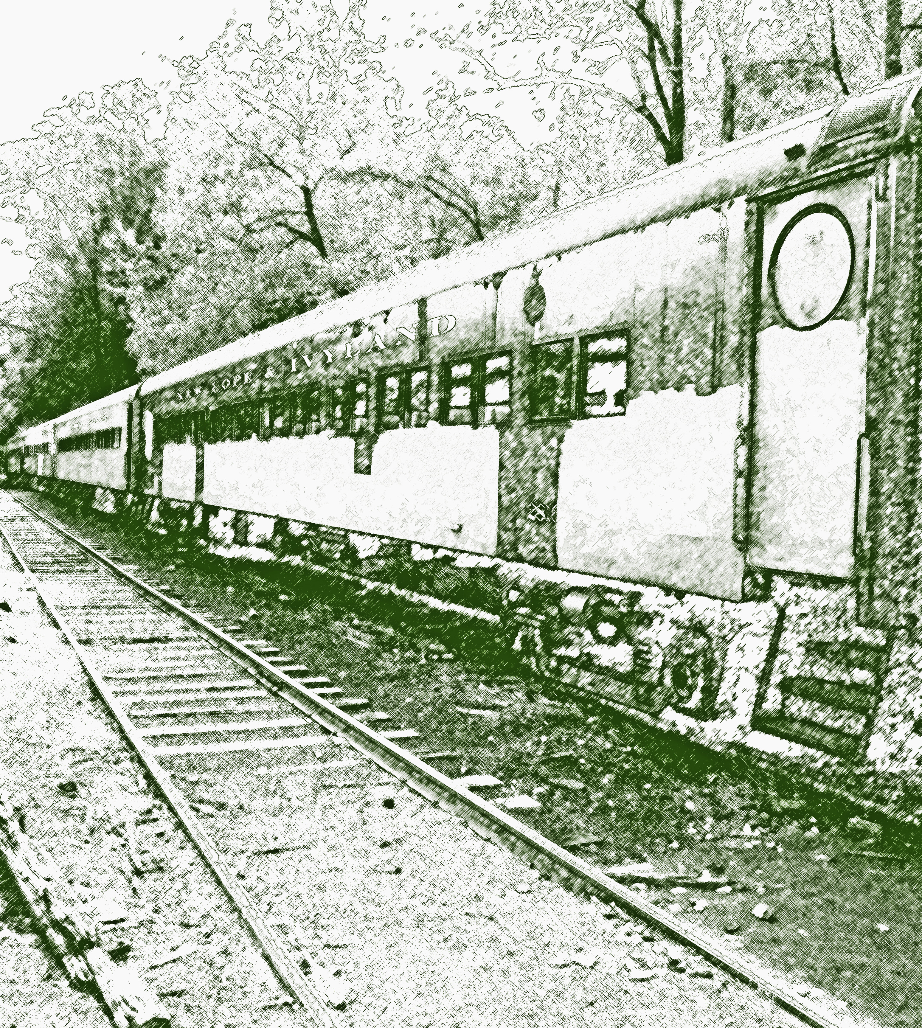 Retired Passenger Rail Cars