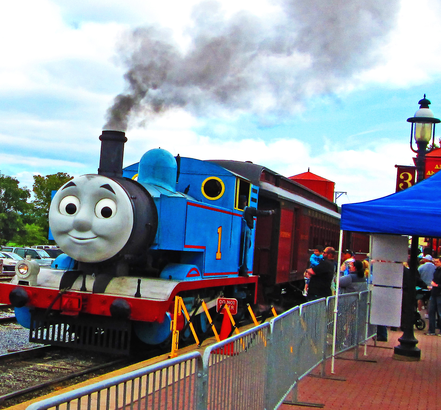 Thomas Train At East Strasburg Station