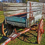 Farm Wagon Hitch & Axle
