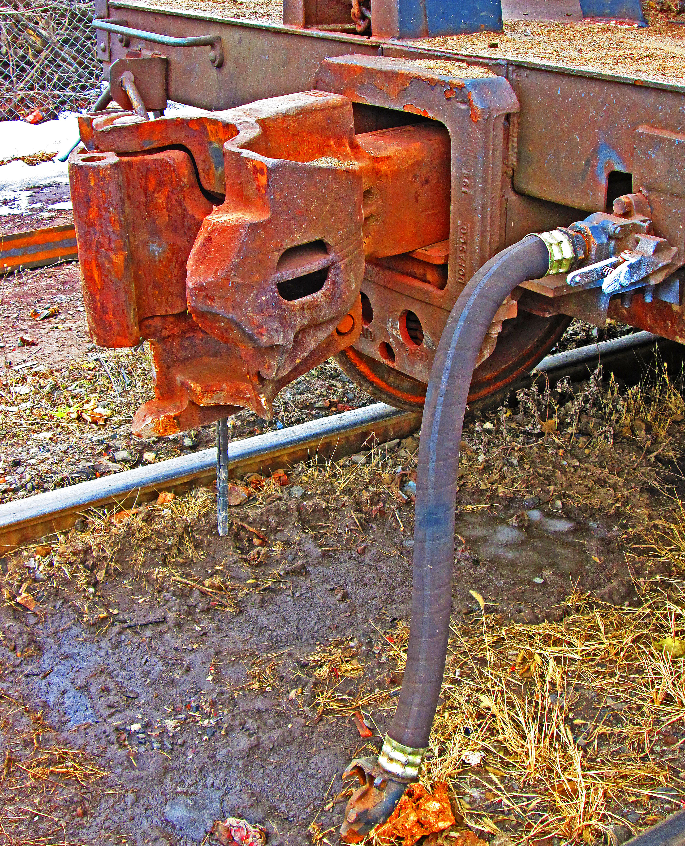 Rail Car Coupler