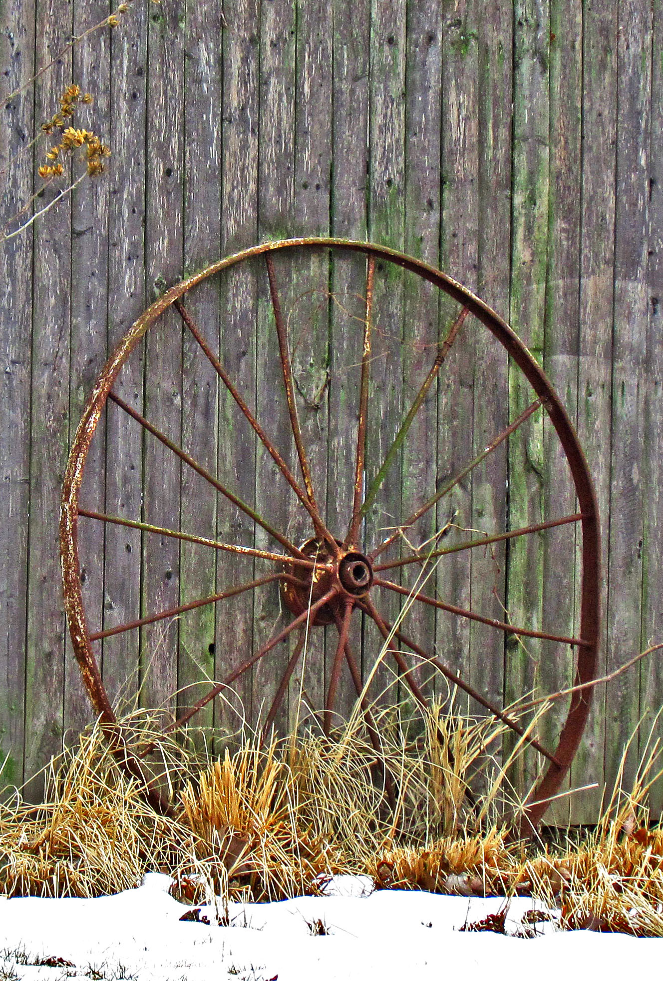 Rusty Big Wheel
