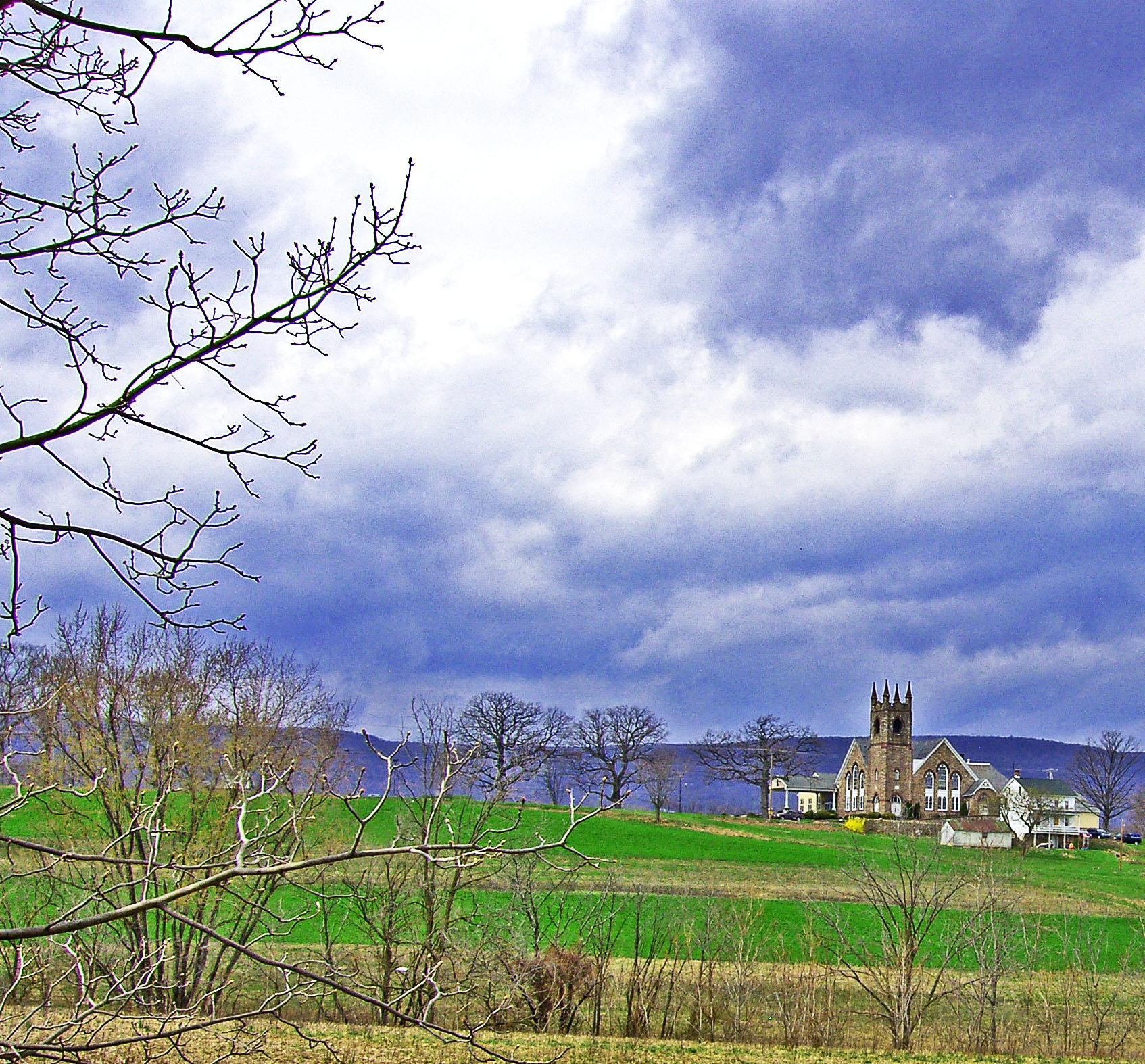 Storm Clouds Over Bernville