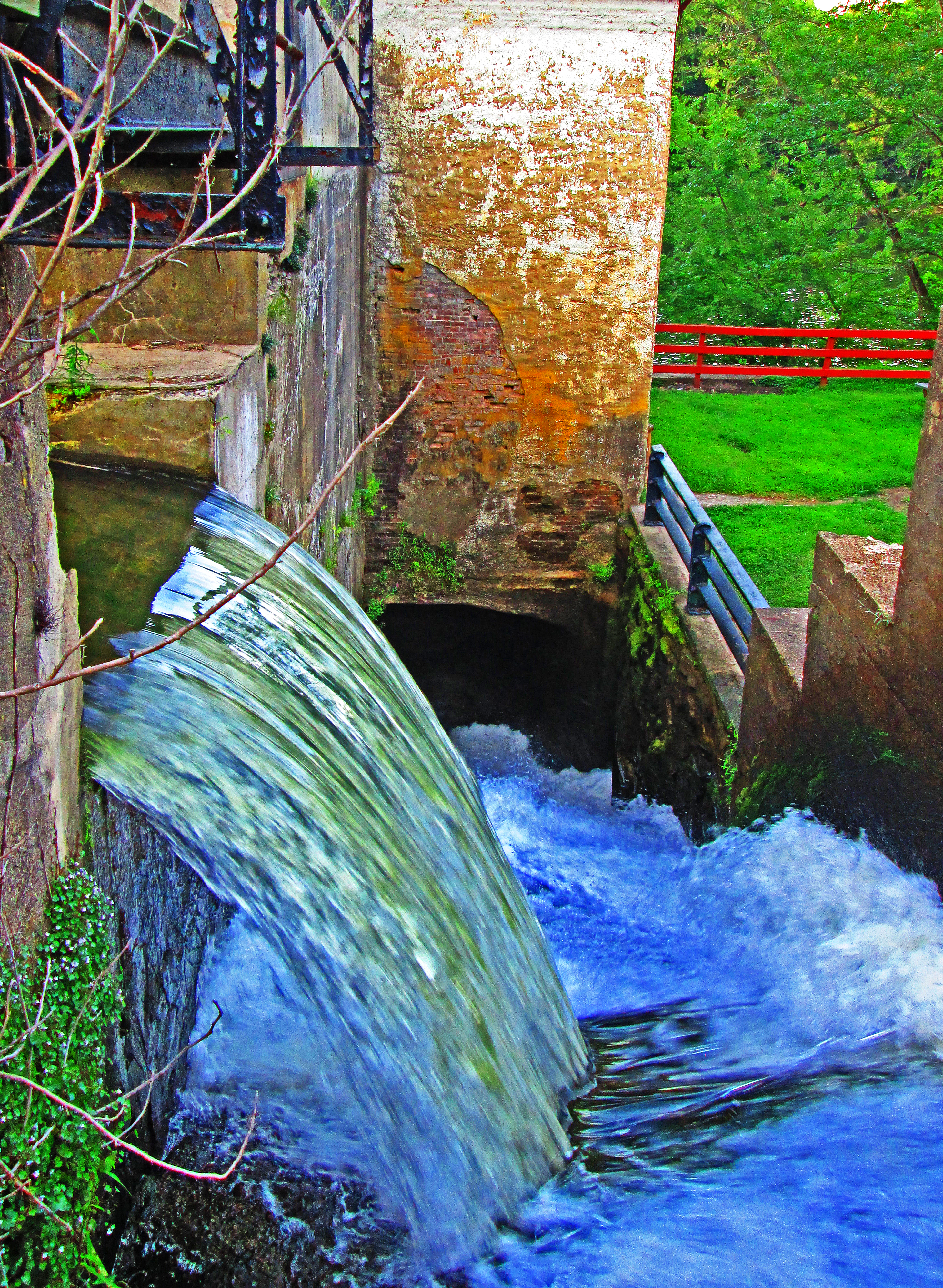 Canal Water Release To River