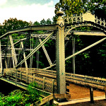 Waterville Iron Bridge Crossing The Swatara Creek