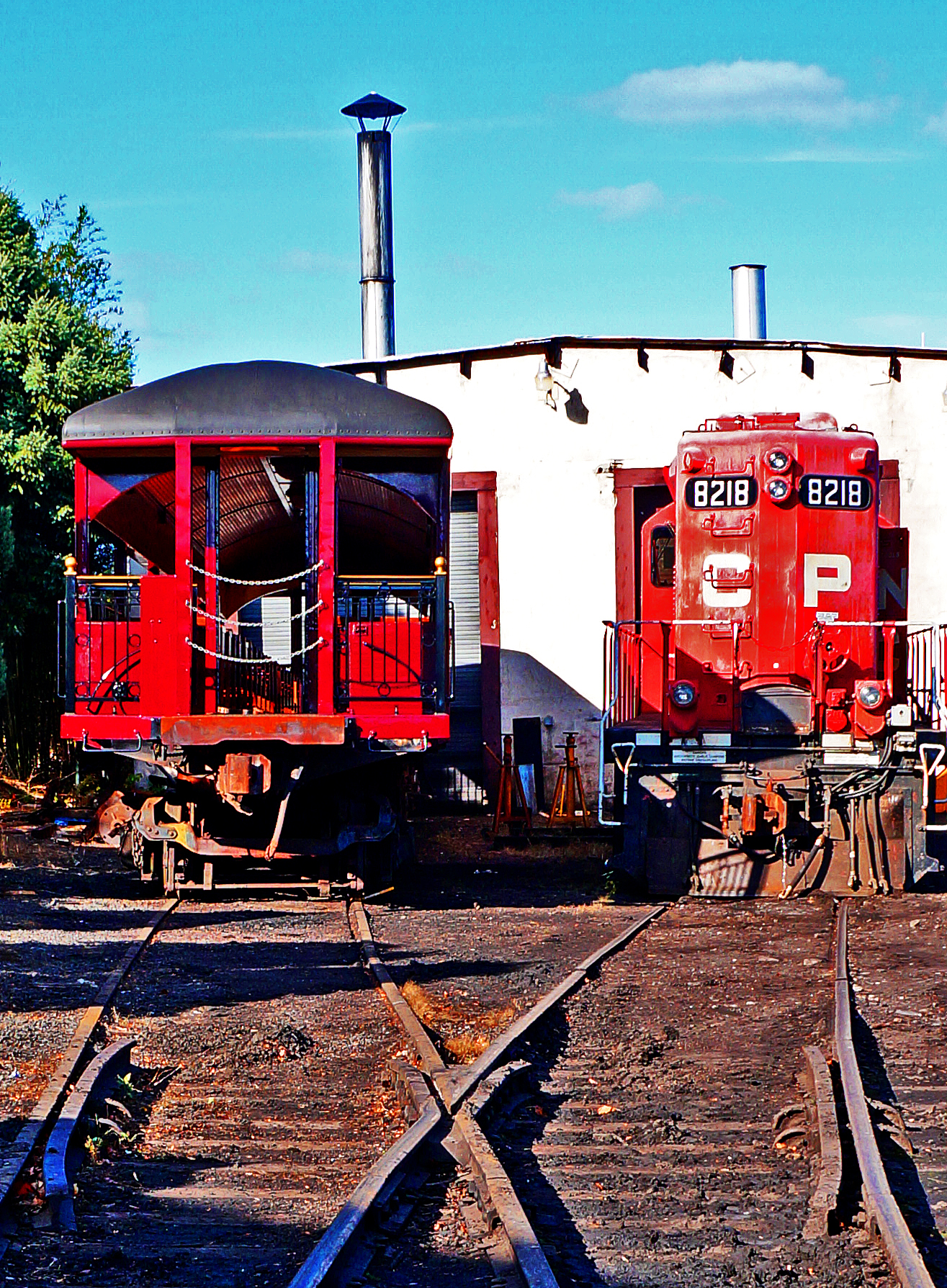 New Hope Rail Yard