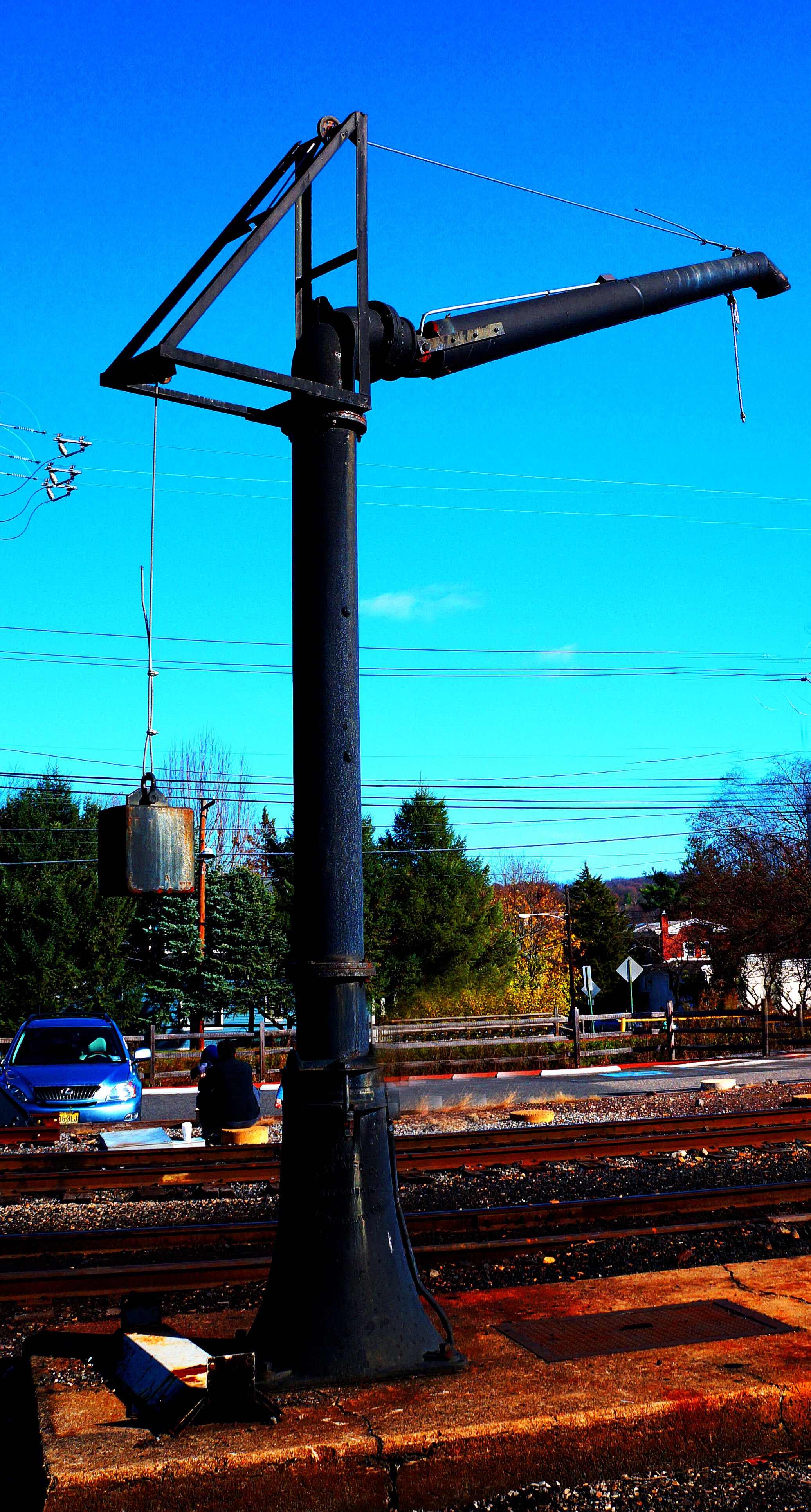Standpipe At New Hope Rail Yard