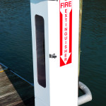 Eaton Dock Fire House Pedestal