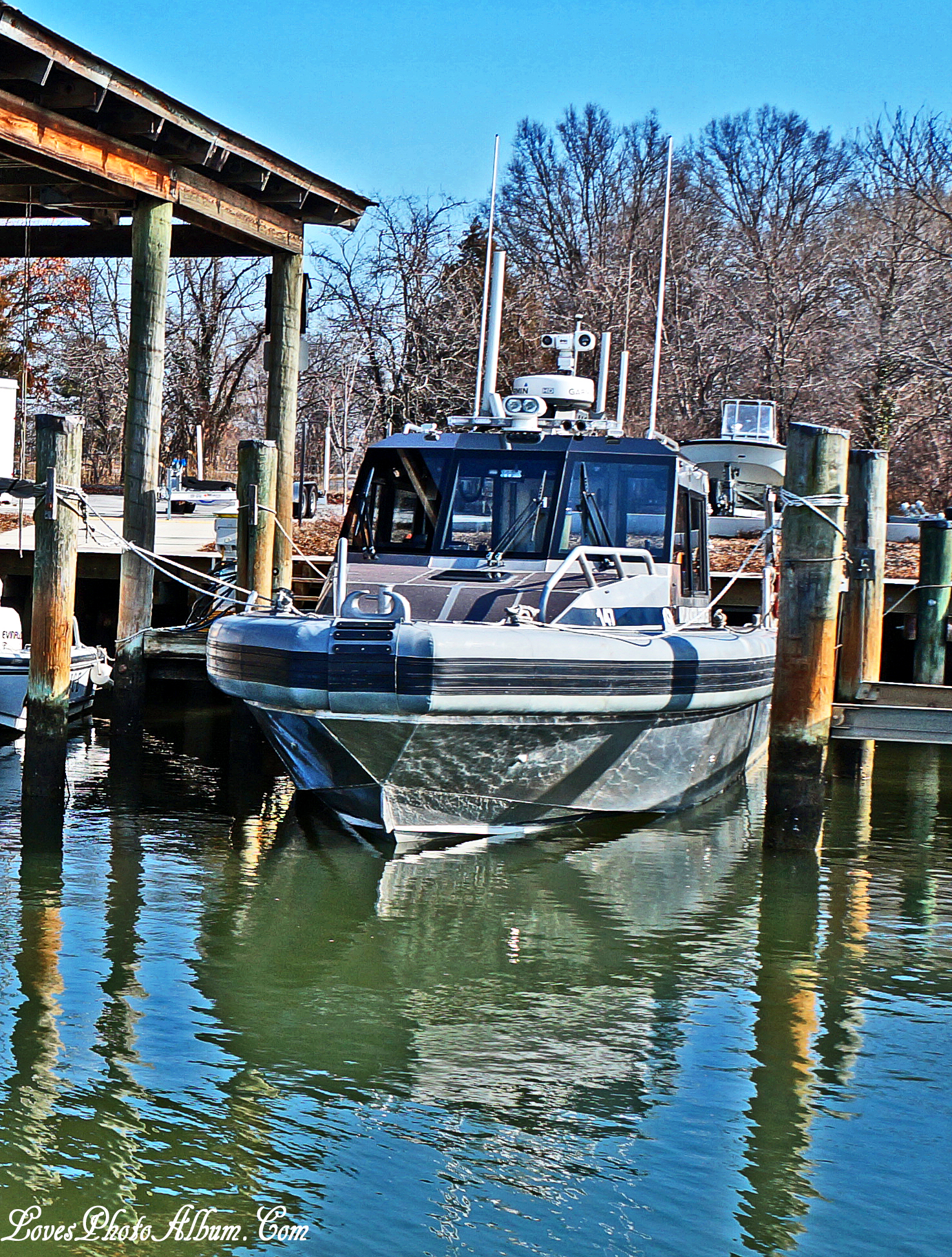 Maryland Natural Resource Police Boat