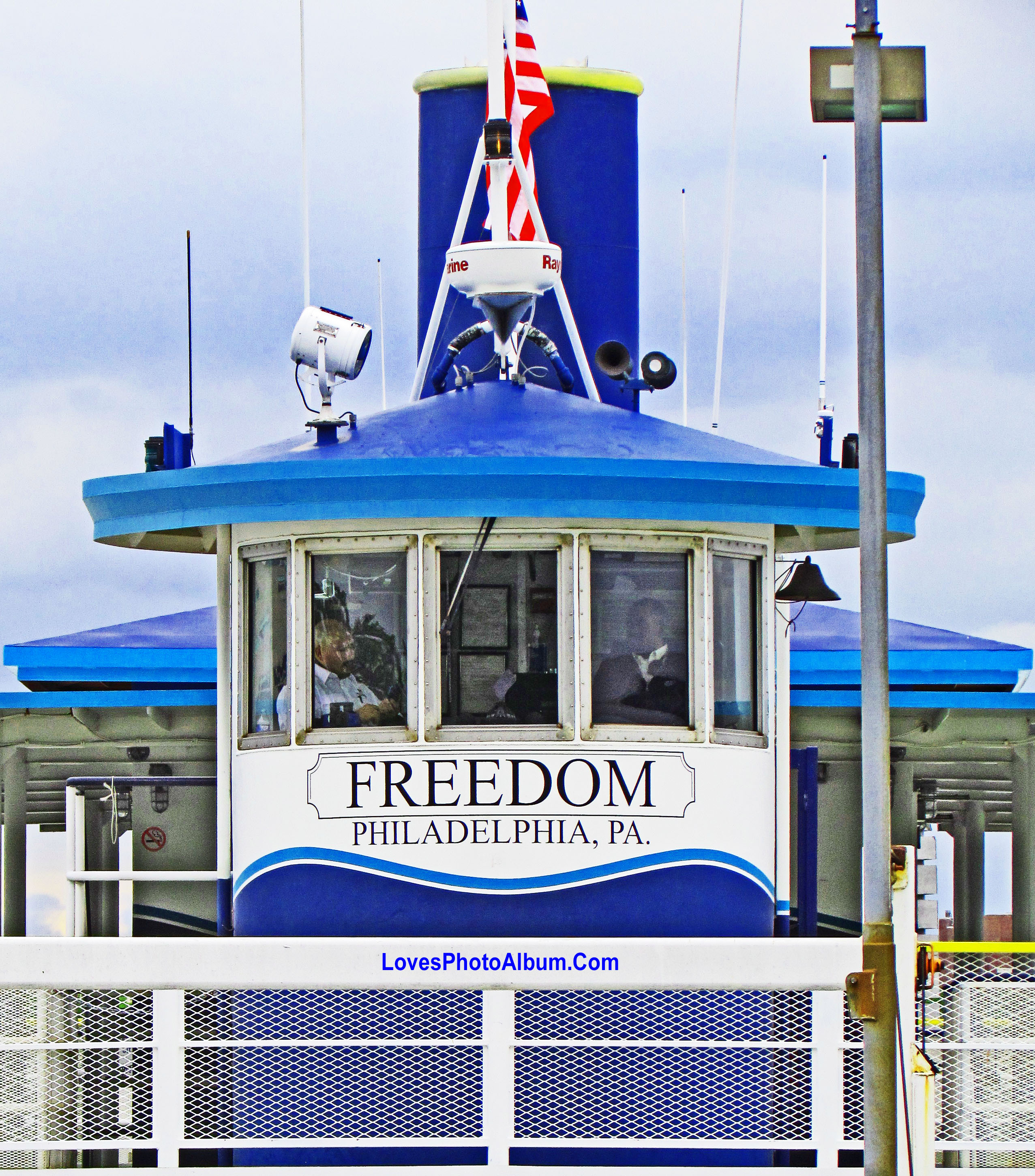 Riverlink Freedom Ferry Bridge