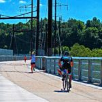 Biking & Jogging On The Manayunk Viaduct