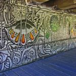 Canal Mural Under Green Lane Bridge