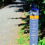 Schuylkill River Trail Location Marker