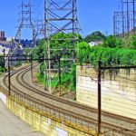SEPTA Commuter Line Thru Manayunk