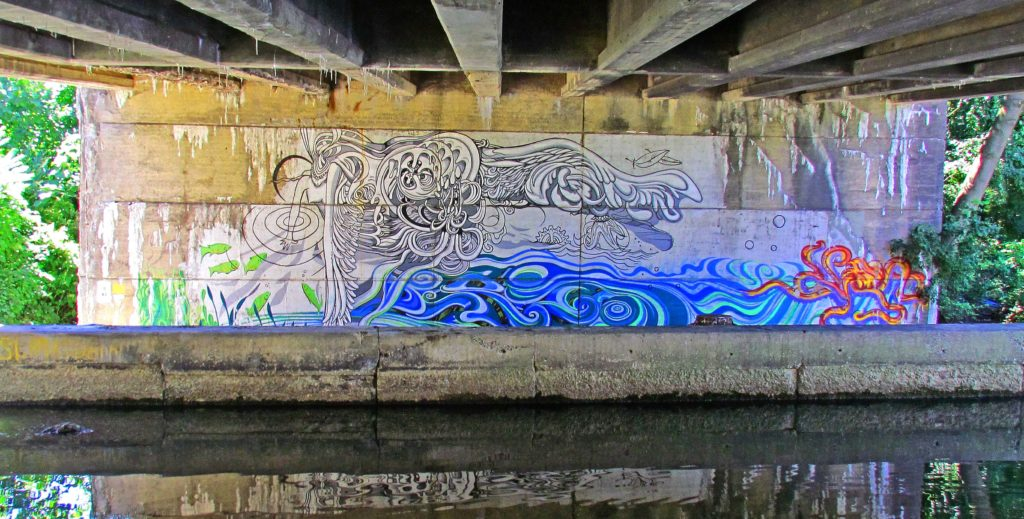 Towpath Mural