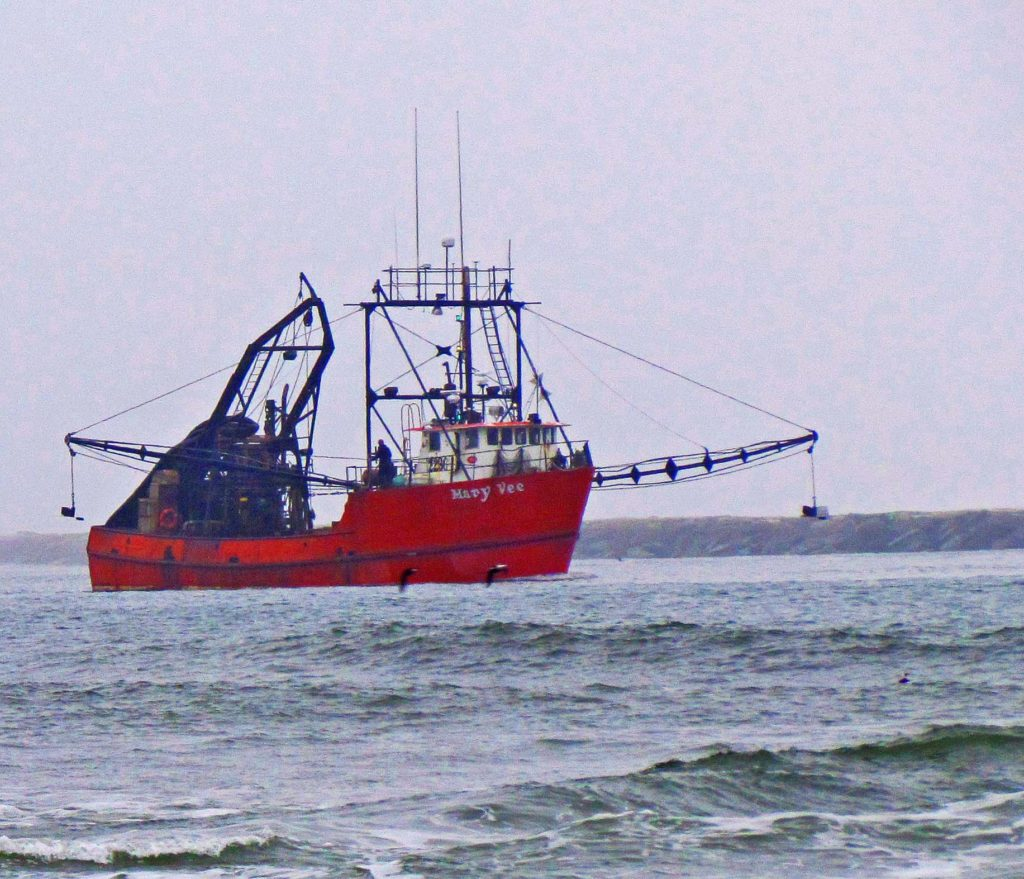 Mary Vee In The Absecon Channel