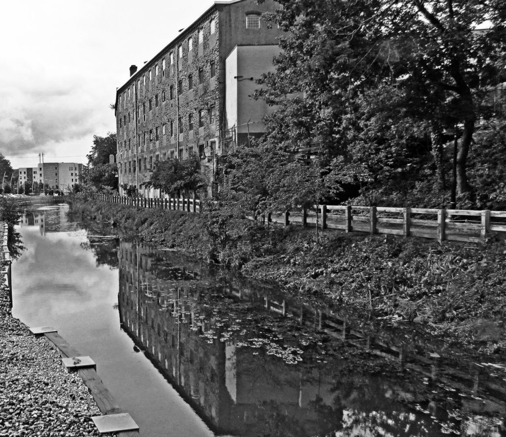 Reflections On The Canal