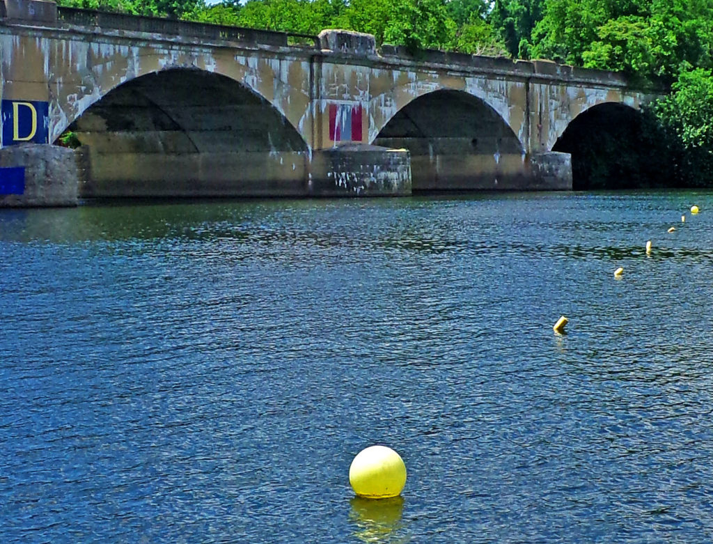 Lane Bouys On The Schuylkill