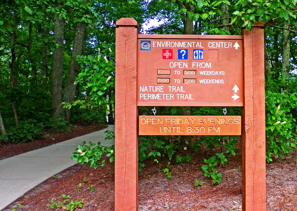 Manasquan Trail Sign