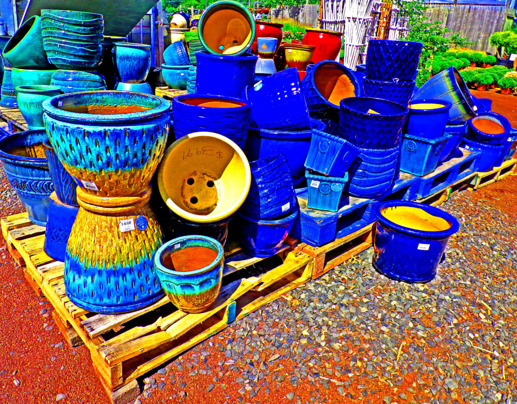 Pallets of Planters