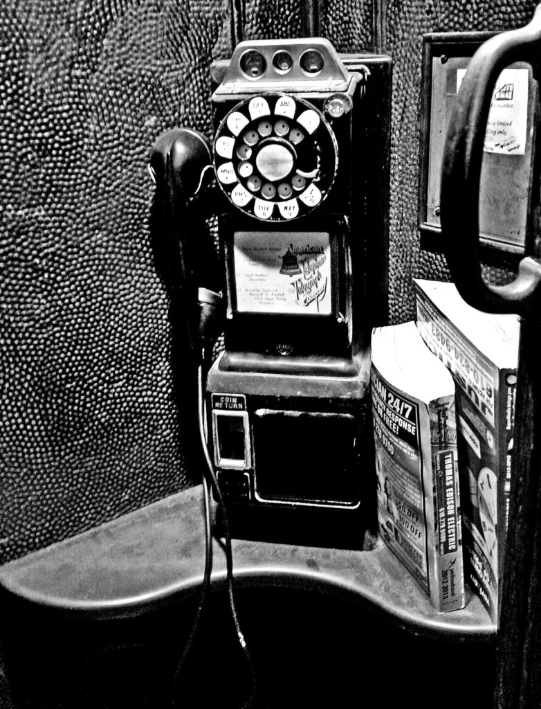 1940s Coin Operated Phone