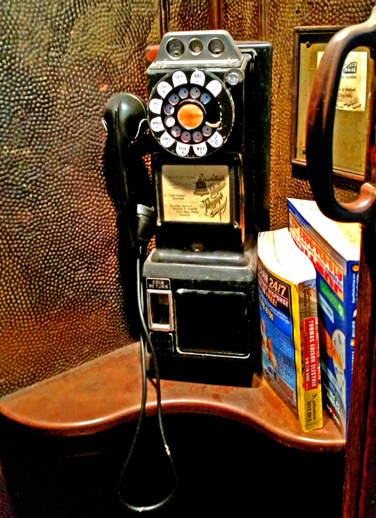 Coin Operated Phone