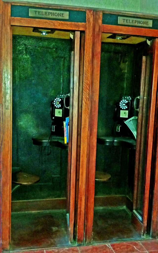 Wooden Phone Booths