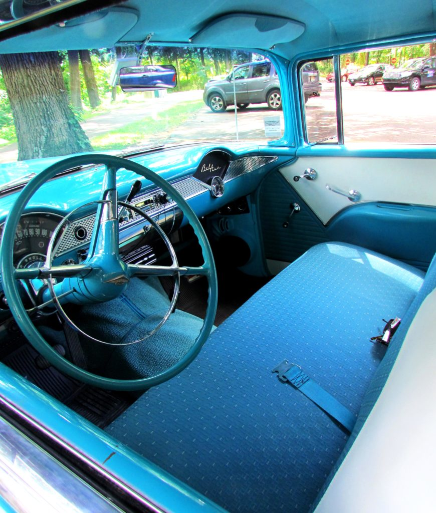 55 Bel Air Front Cabin