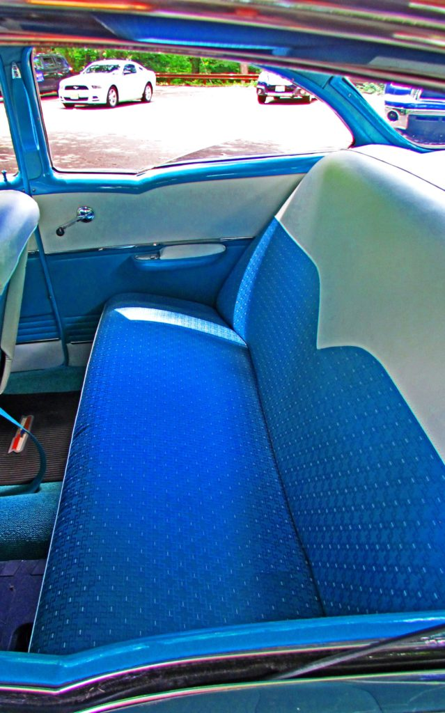 55 Chevy Bel Air Rear Seat