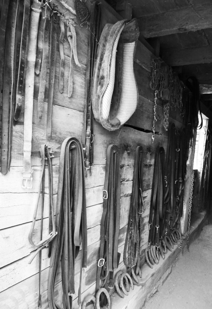 Howell Farm Stable Tack Wall
