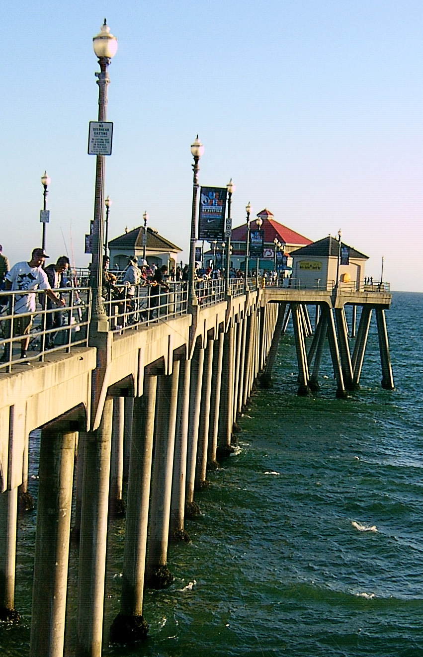 Huntington Beach Pier Fishing